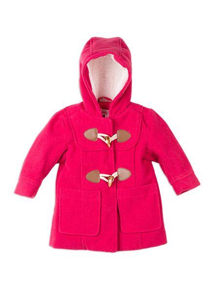 Toddler Girls // Hooded Duffle Coat | W16 | Autumn in Wonderland ...