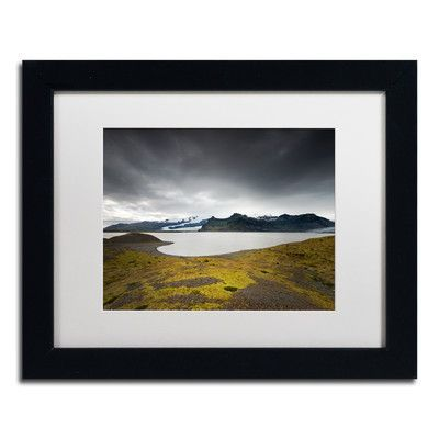 Trademark Art Threat in the Sky by Philippe Sainte-Laudy Framed Photographic Print Size: 1