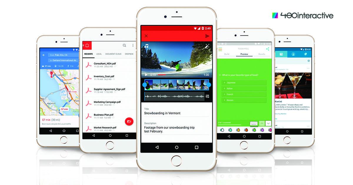 Crear una App sin programar es posible con 480interactive. Además, puedes agregarle todas estas funcionalidades y contenidos sin una línea de código