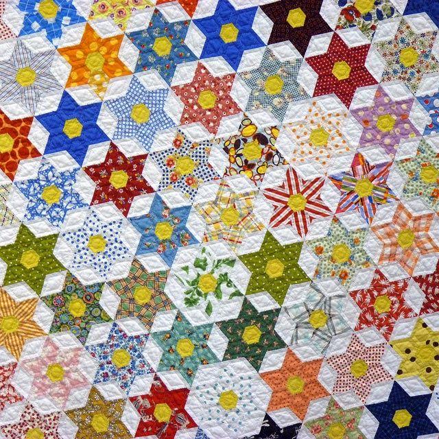 Texas Star by Sandra Boyle | Sandra Boyle | Pinterest : texas star quilt pattern free - Adamdwight.com