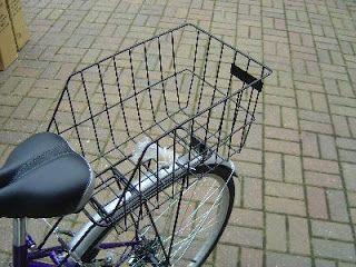 True Adventures In Money Hacking Cruiser Bike Basket Rear Bike Rack Rear Bike Basket