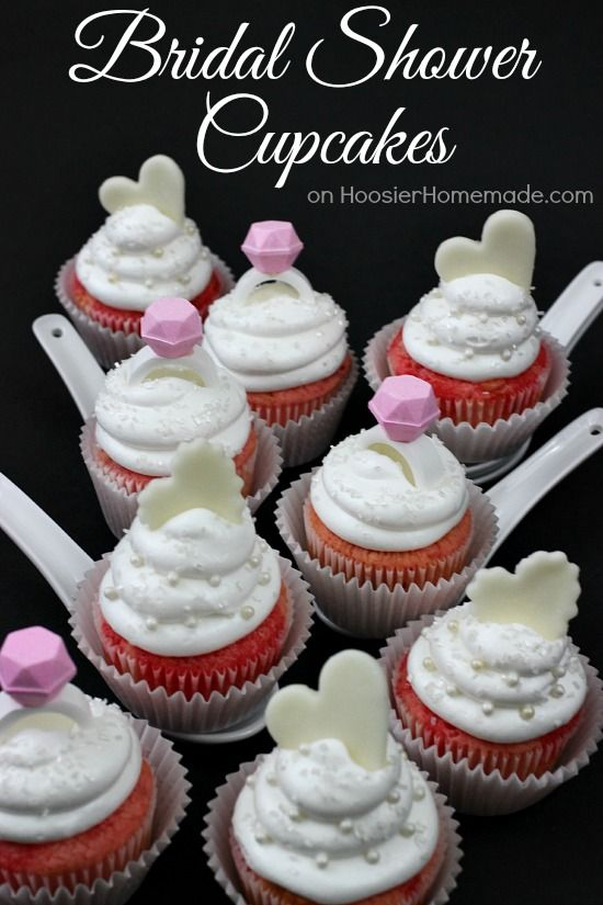 bridal shower cupcakes strawberry cupcakes with marshmallow frosting recipe on hoosierhomemadecom