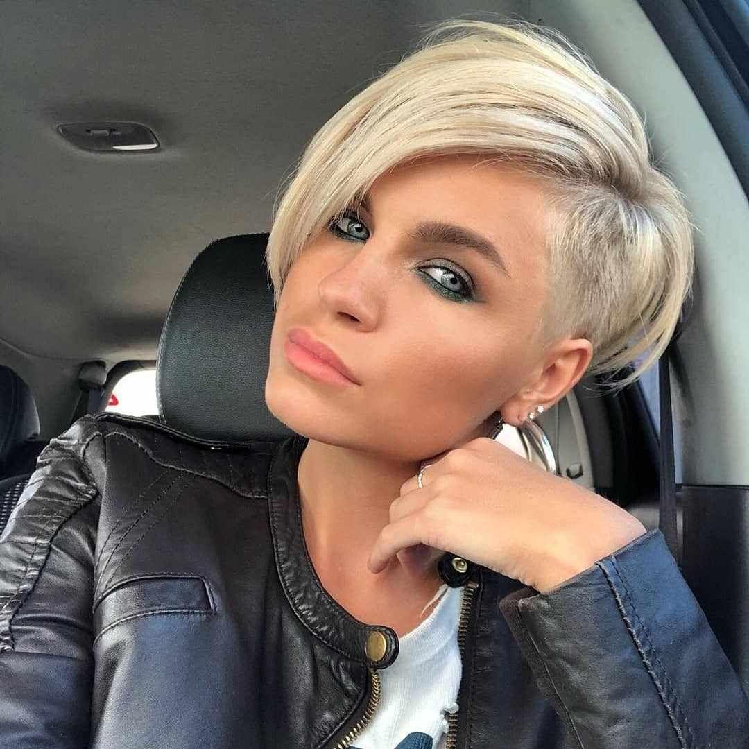 Hot Short Hairstyles For Women In 2019 Short Hair Haircuts Short Hair Undercut