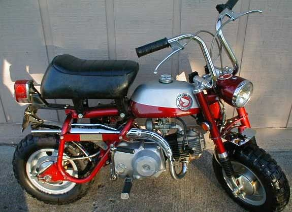 Good Hereu0027s An Old Honda CT 70 Trail Bike. We Had A Golden One And Loved