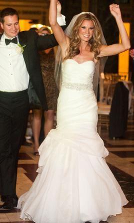 Used Monique Lhuillier Wedding Dress Peony Size 2