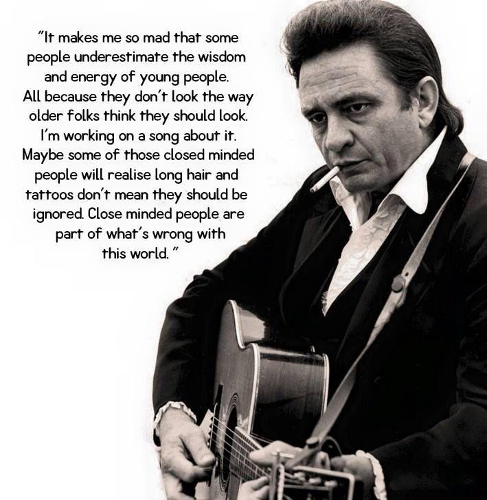 Thanks To Johnny Cash Infocenter Johnny Cash Quotes Johnny Cash June Carter Johnny Cash