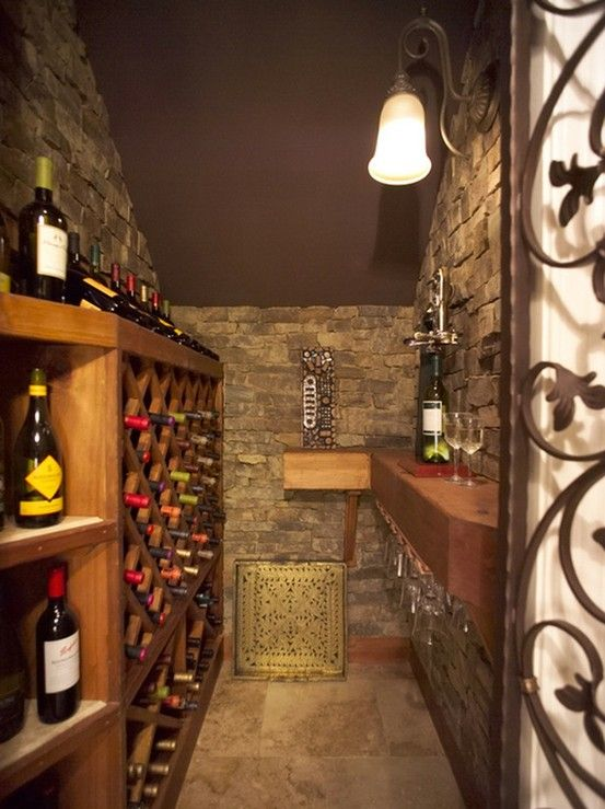 Yes closet under the stairs turned into wine cellar for Turn closet into wine cellar