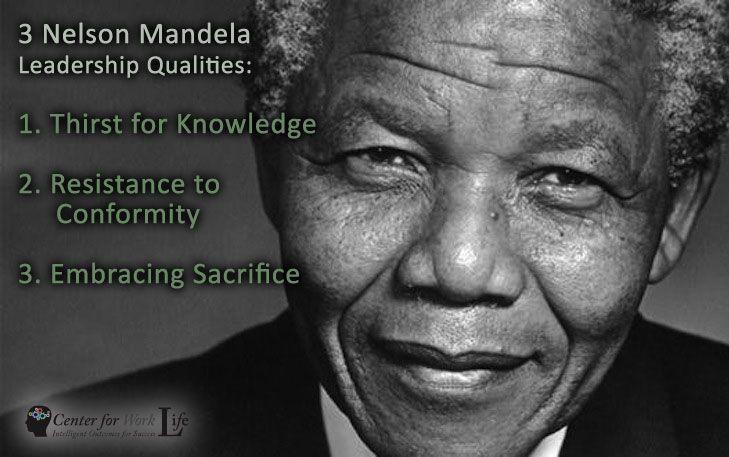 nelson mandela leadership qualities