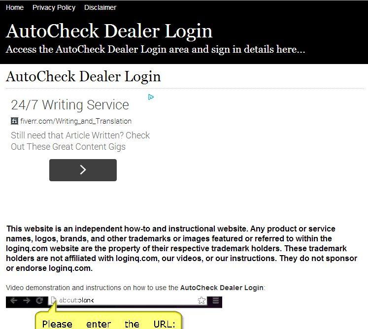 Autocheck com login : Black friday kmart deals