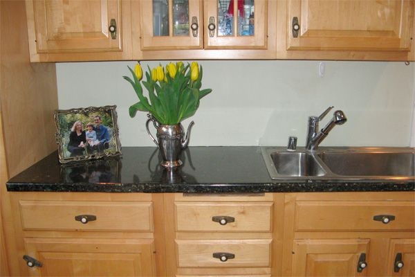 Marvelous Another Gorgeous EZ Faux Granite Installation! Looks Just Like Real Granite!