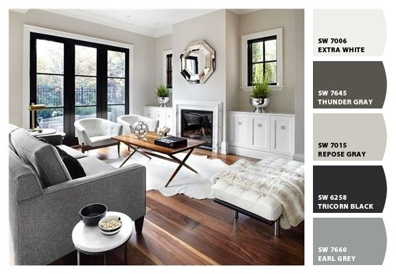 Paint colors from ColorSnap by Sherwin Williams | Living