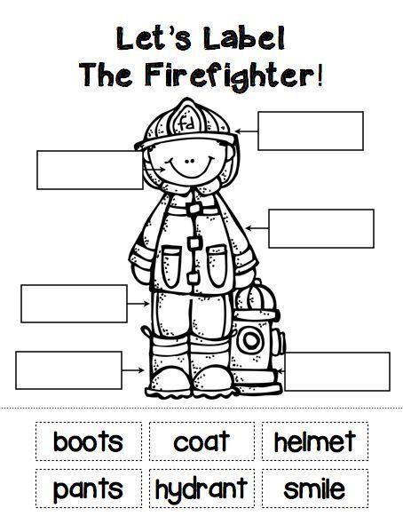 Community Helpers Firefighter Community Helpers Preschool Fire Safety Preschool Community Helpers Theme
