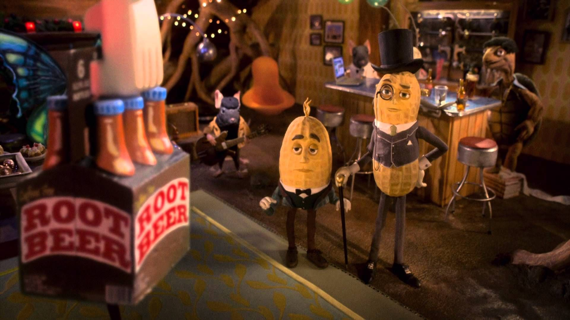 Christmas Planters Peanuts.Mr Peanut S Naturally Remarkable Holiday Party Planters