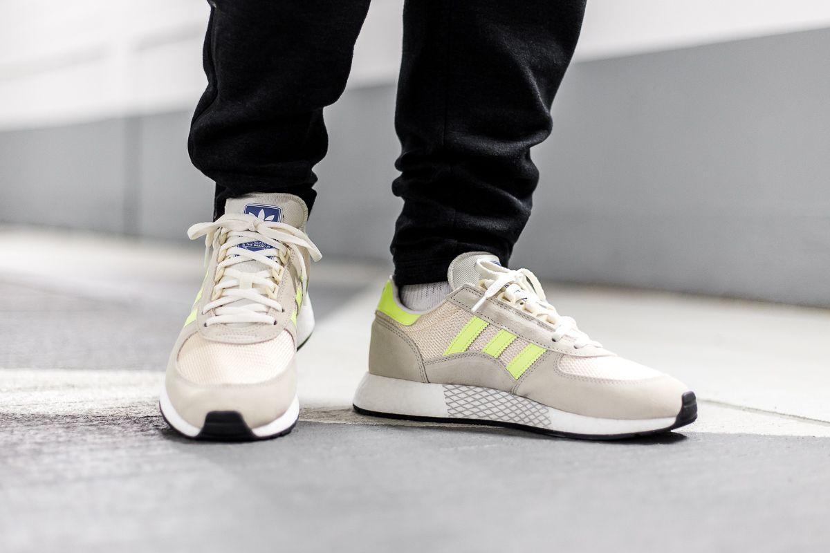 adidas Originals Marathon Tech Sneaker für Herren Grau