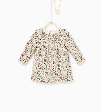 Jacquard jurk-NIEUW-BABY MEISJE   3 maanden - 4 jaar-KINDEREN   ZARA Nederland