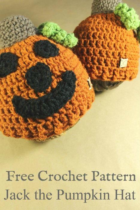 Jack The Pumpkin Hat Crochet Pattern Cream Of The Crop Crochet