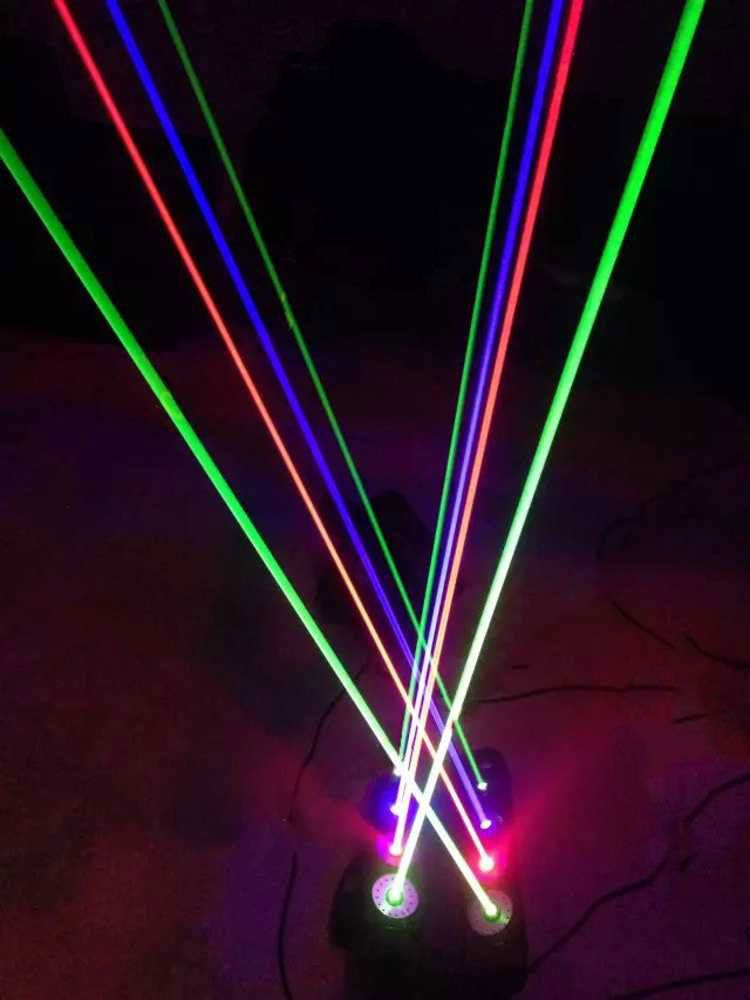 Stage Moving Head Rgb Led Laser Disco Light Disco Lights Laser Stage Lighting Club Lighting