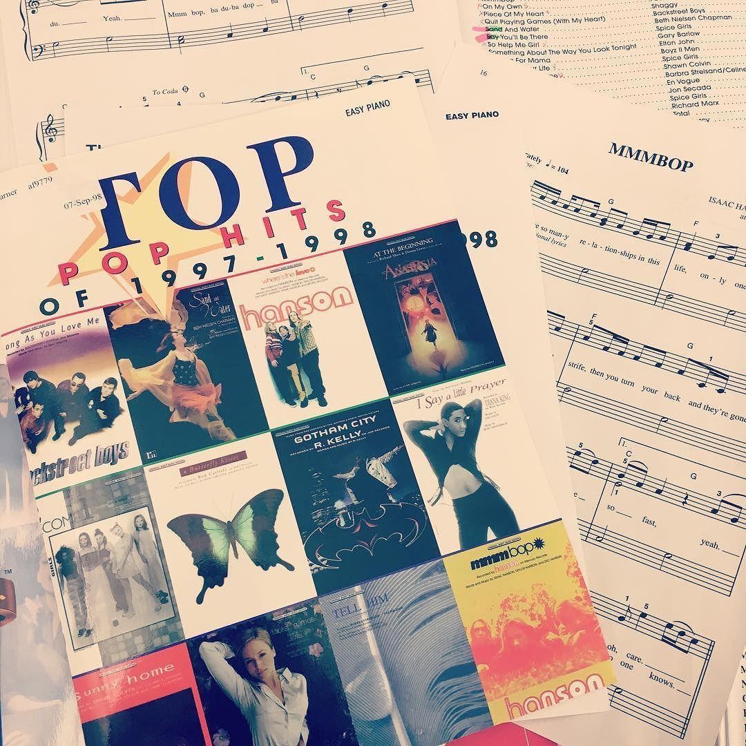 Mmmbop sheet music by hanson sheet music pianos and music music hexwebz Choice Image