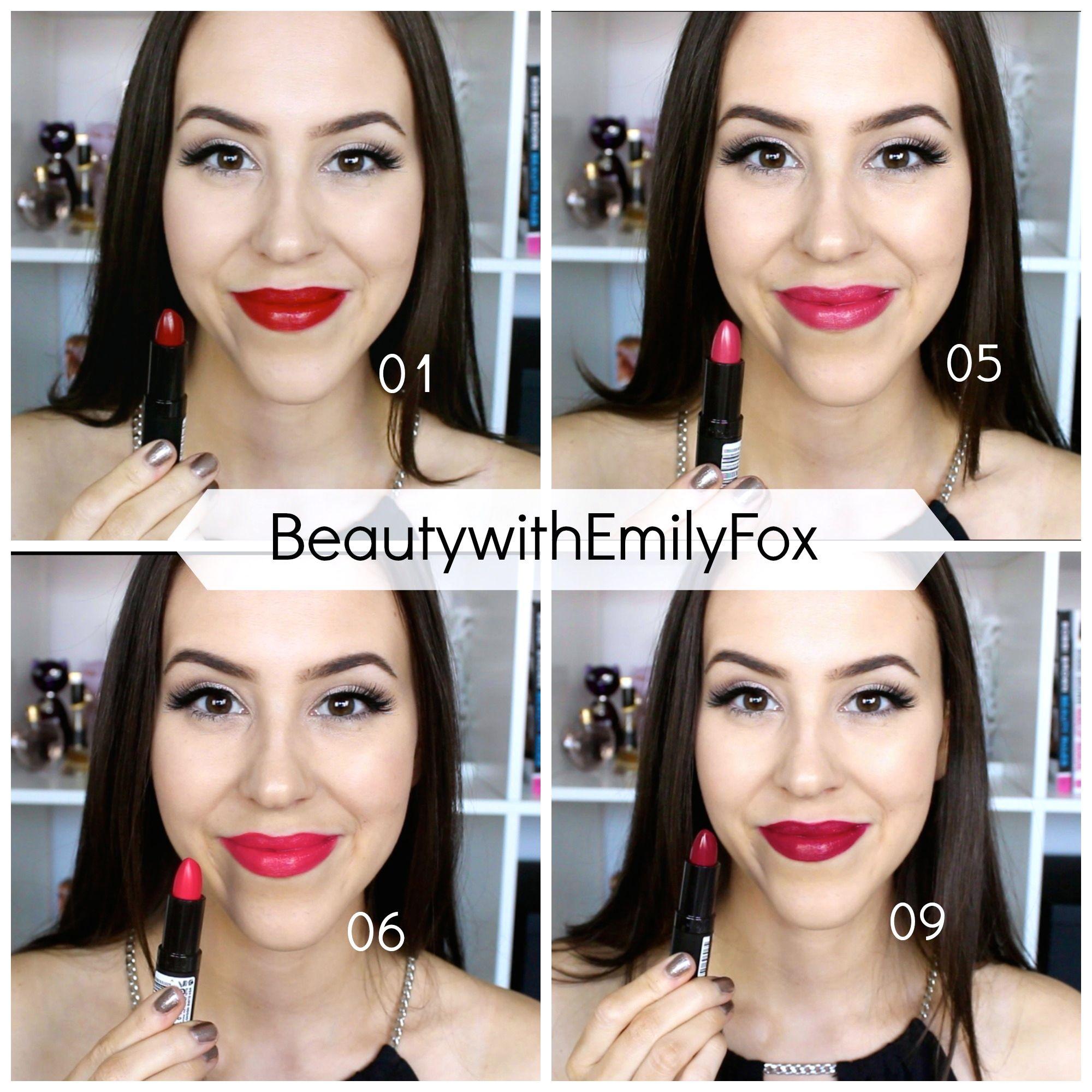 rimmel lasting finish lipsticks by kate moss lip