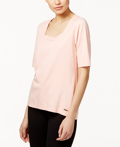 34.99$  Watch now - http://vidfk.justgood.pw/vig/item.php?t=bydew5x43914 - Square-Neck Top 34.99$