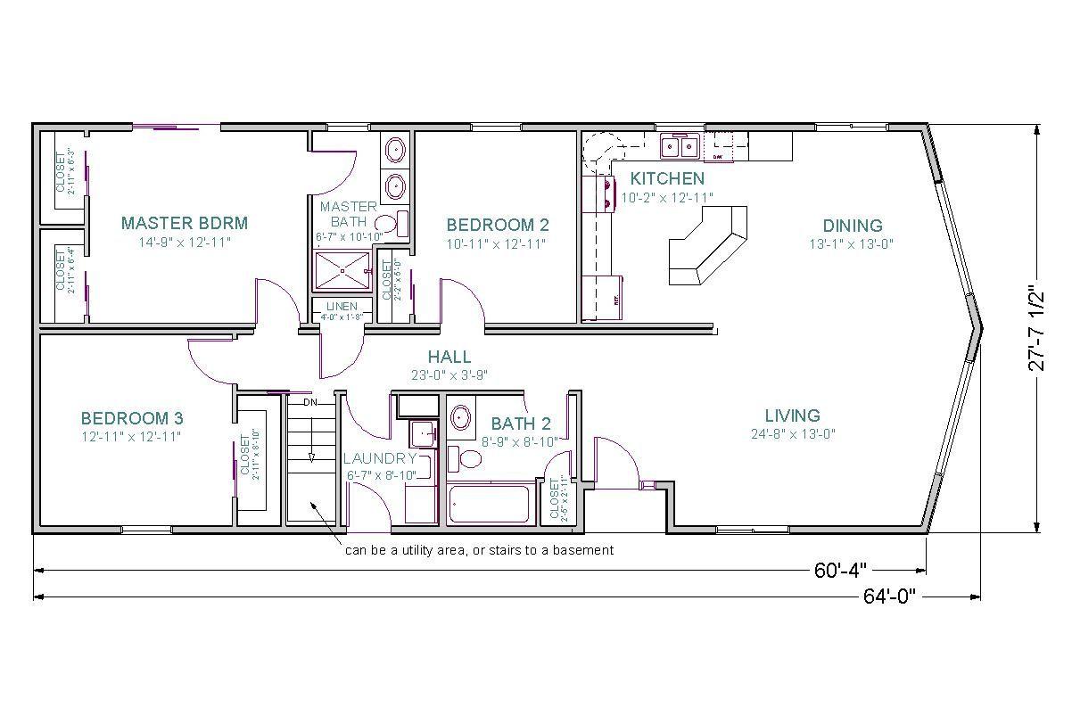 Ranch House Floor Plans