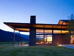 Contemporary Flat Roof Tapered Overhang Architecture Residential Architecture Modern Architecture