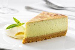 Baked Avocado Cheesecake
