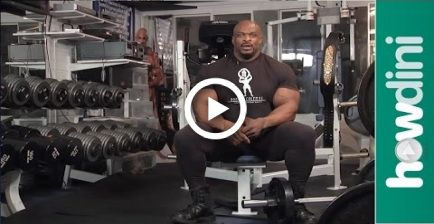 Body building tips: How to build muscle with Ronnie Coleman #fitness