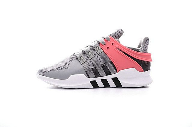 outlet store ebd6e 9739a Adidas EQT Support ADV Primeknit 93 Grey Turbo Red Uk Trainers 2018 Newest  Shoe