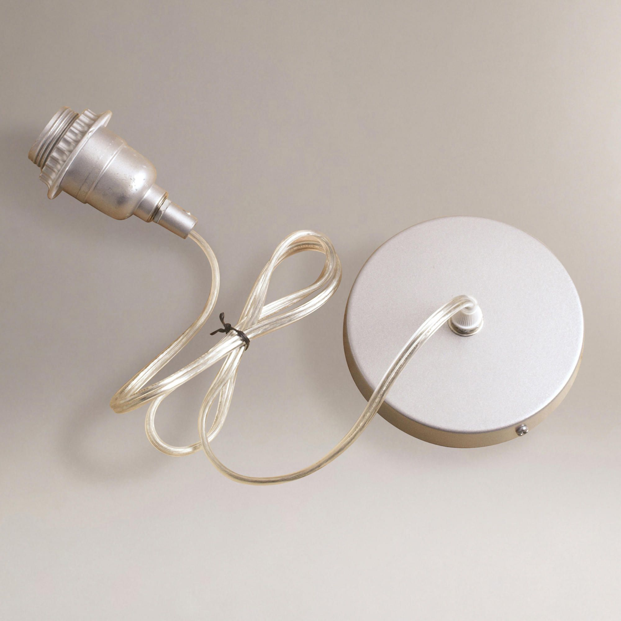 Silver Electrical Ceiling Hardwire Kit World Market In