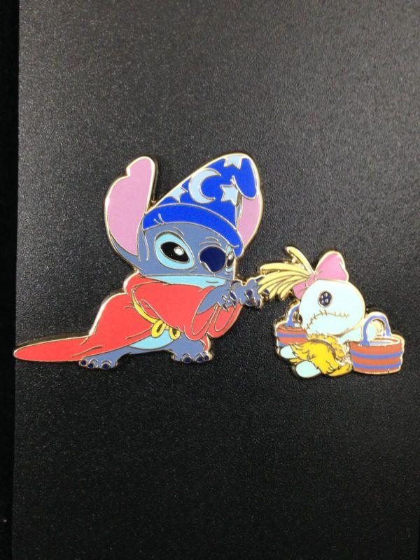 2a76e273027bec Disney Tokyo Japan Costume Stitch and Scrump as Sorcerer Apprentice ...