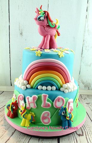 My Little Pony Cake Novelty Birthday Cakes For Women