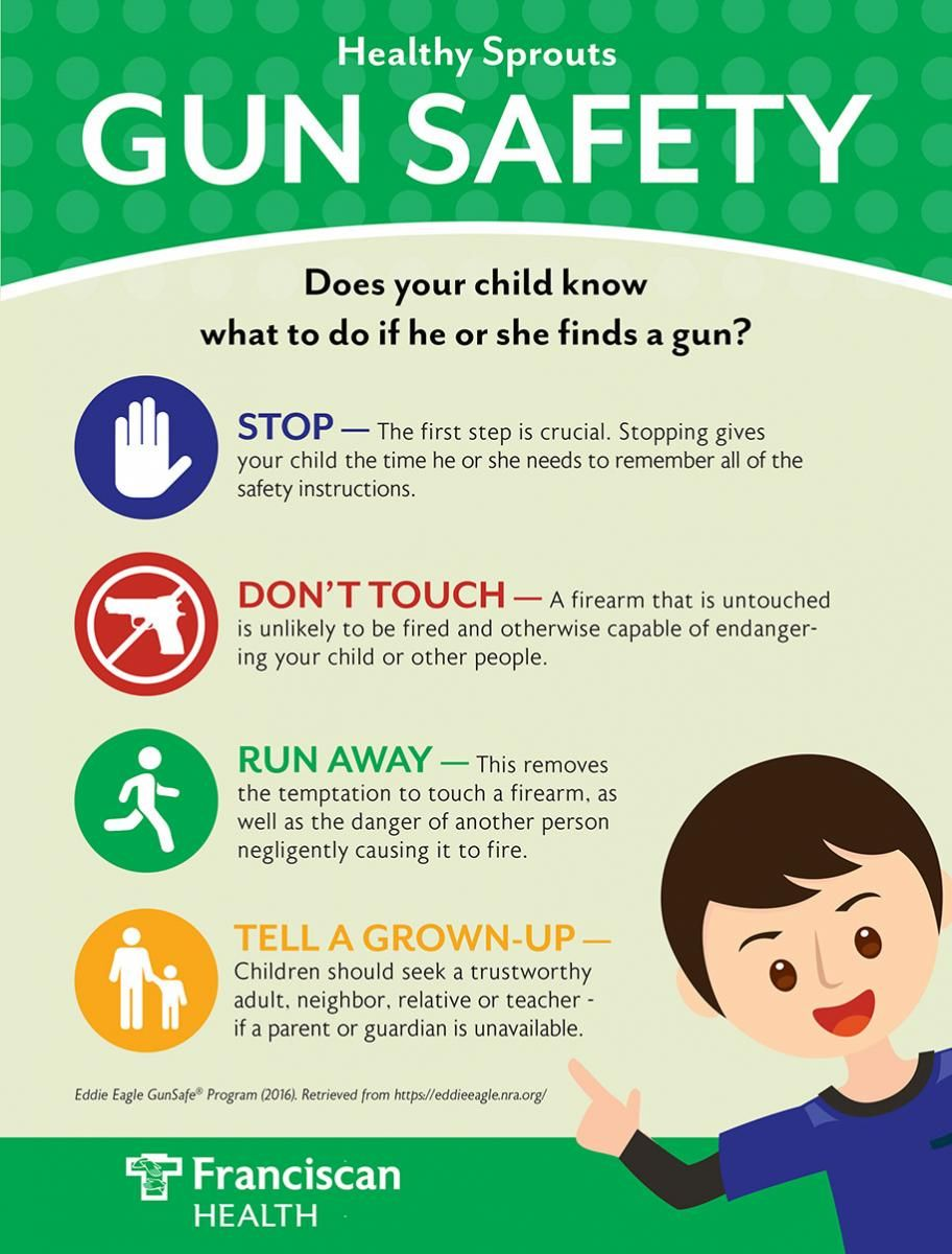 If you do choose to keep a firearm, safely store the