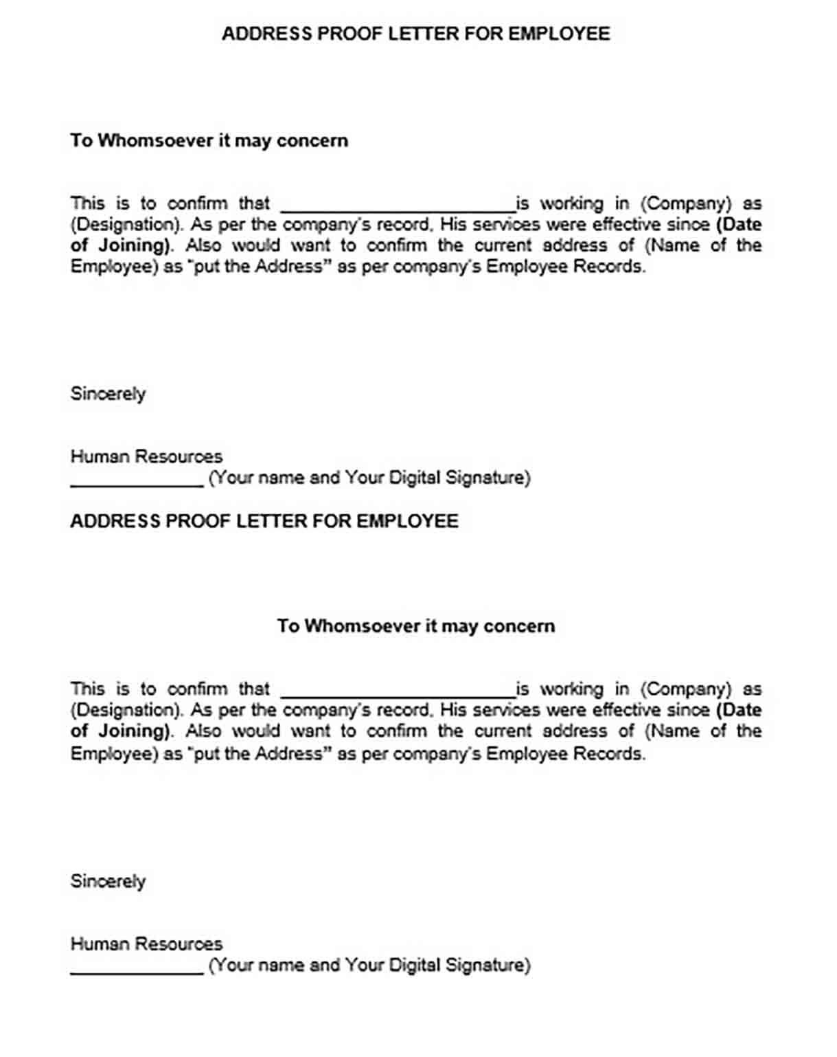 Employment Verification Letter From Employer Ironi Intended For Employment Verification Letter Template W Letter Template Word Lettering Letter Of Employment
