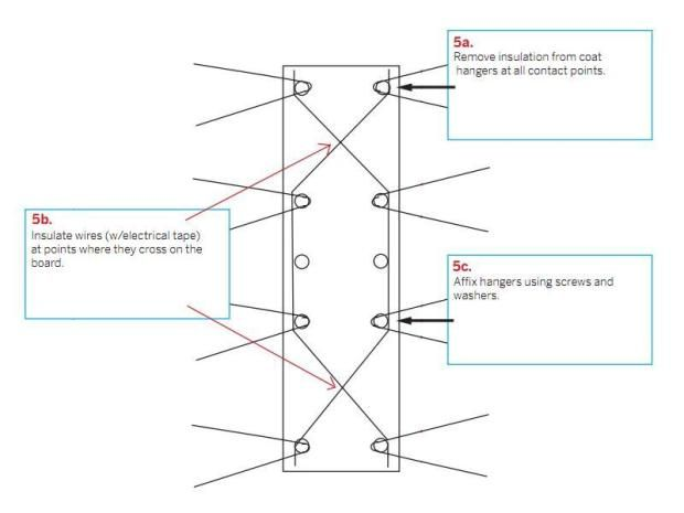Make A Digital Tv Coat Hanger Antenna Make Digital Tv Tv Antenna Antenna