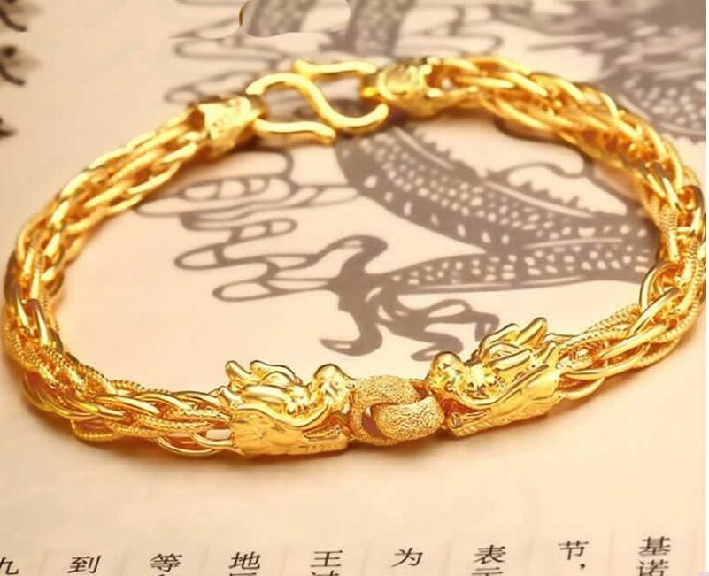 24k Yellow Gold Bracelet