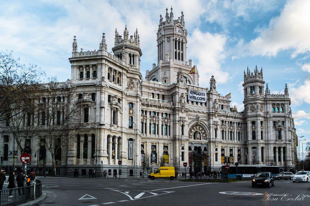 Palacio De Cibeles Madrid By Iosu Escobar Perez On 500px Mis Fotos Cibeles Madrid Palacios Y Cibeles