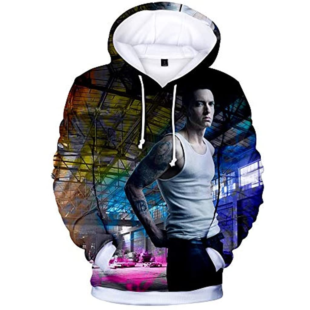 2020 New Album Eminem Hoodie 3D Print Hoodies Harajuku