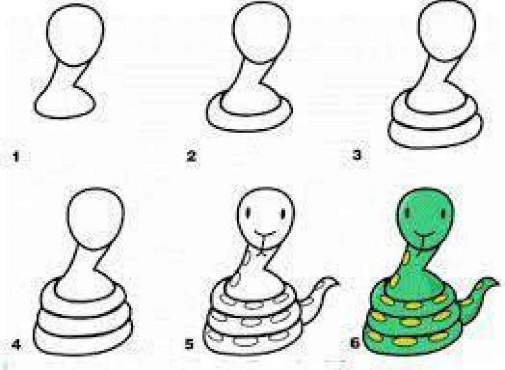 Apprendre dessiner aux enfants tape par tape 17 animaux faciles dessiner partir d - Dessiner des animaux facilement ...