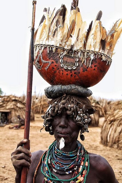 Dassanech Woman, Omo Valley-Ethiopia