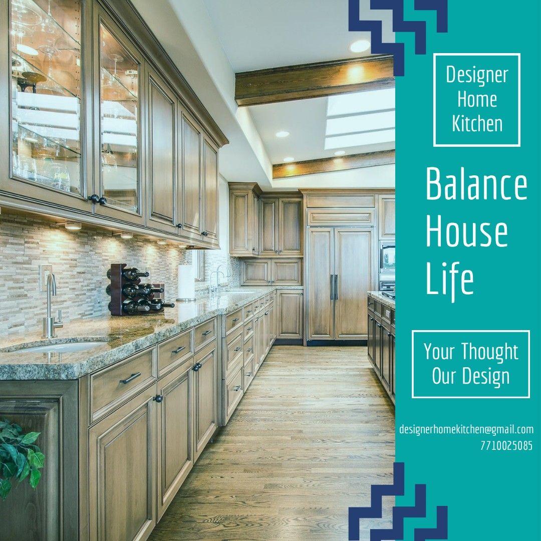 Pin On Designer Home Kitchen Modular Kitchen Cabinet