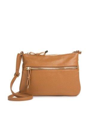 Zip Pocket Crossbody Bag