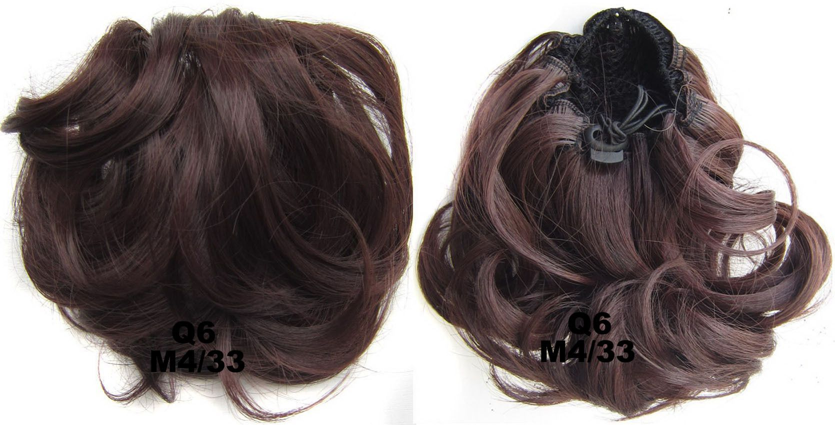 Ladies fashional and popular curly and short hair buns drawstring ladies fashional and popular curly and short hair buns drawstring synthetic hair extension bride scrunchies m433 pmusecretfo Gallery