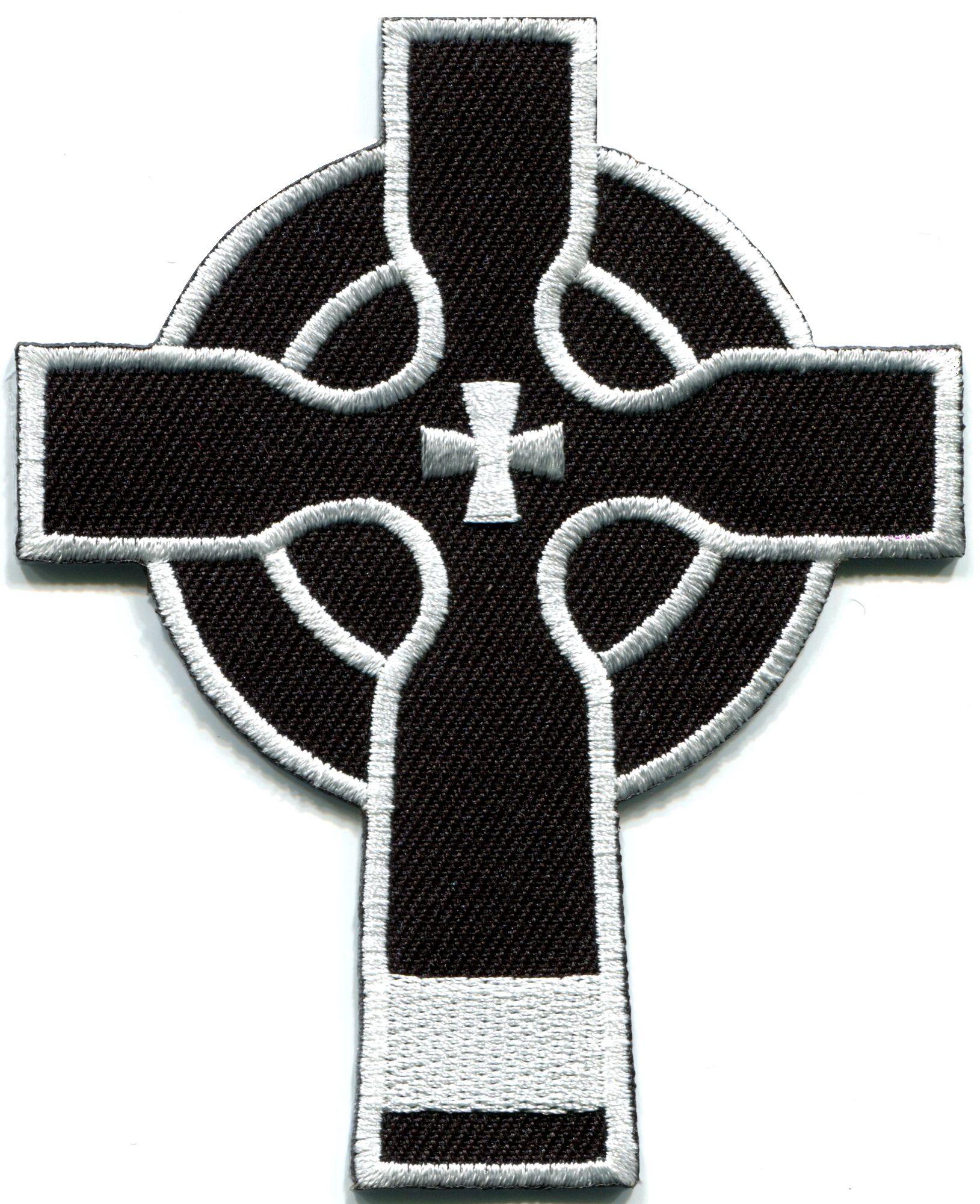 Details about Celtic cross Irish goth biker tattoo wicca