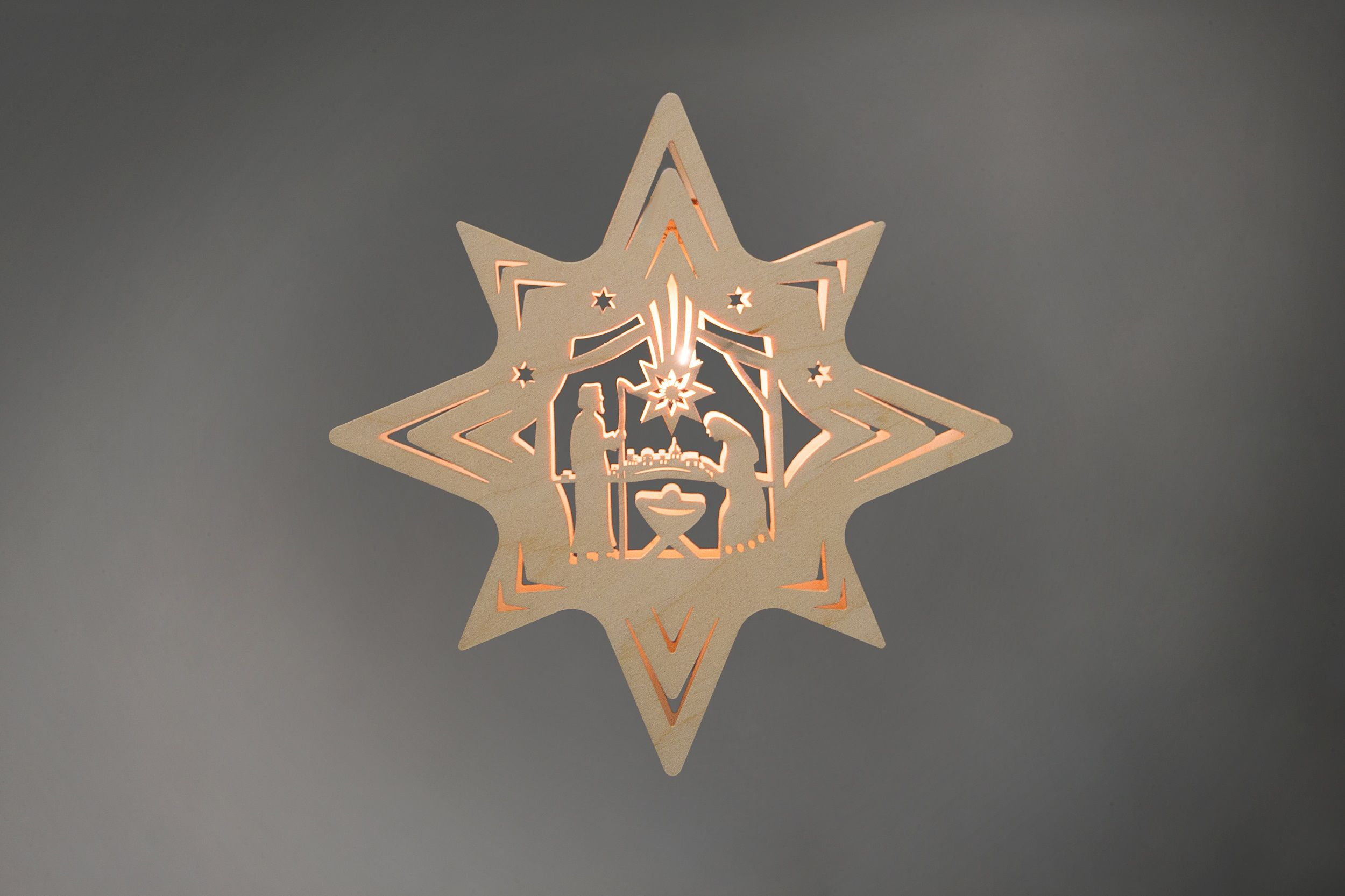 Fensterbild Stern Christi Geburt #Holzkunst #Volkskunst #Erzgebirge ...