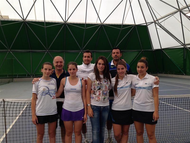 Al C.T. Tortoreto il titolo regionale di tennis nella categoria under 16 femminile