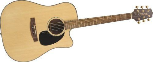 Takamine G Series G340sc Dreadnought Acoustic Guitar Natural By