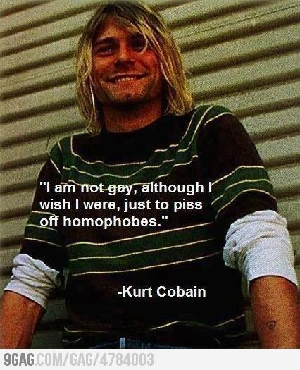 I love Kurt Cobain!