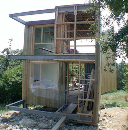 Suplemento maderadisegno casas pinterest de perfil casas y constructora - Estructura metalica vivienda ...