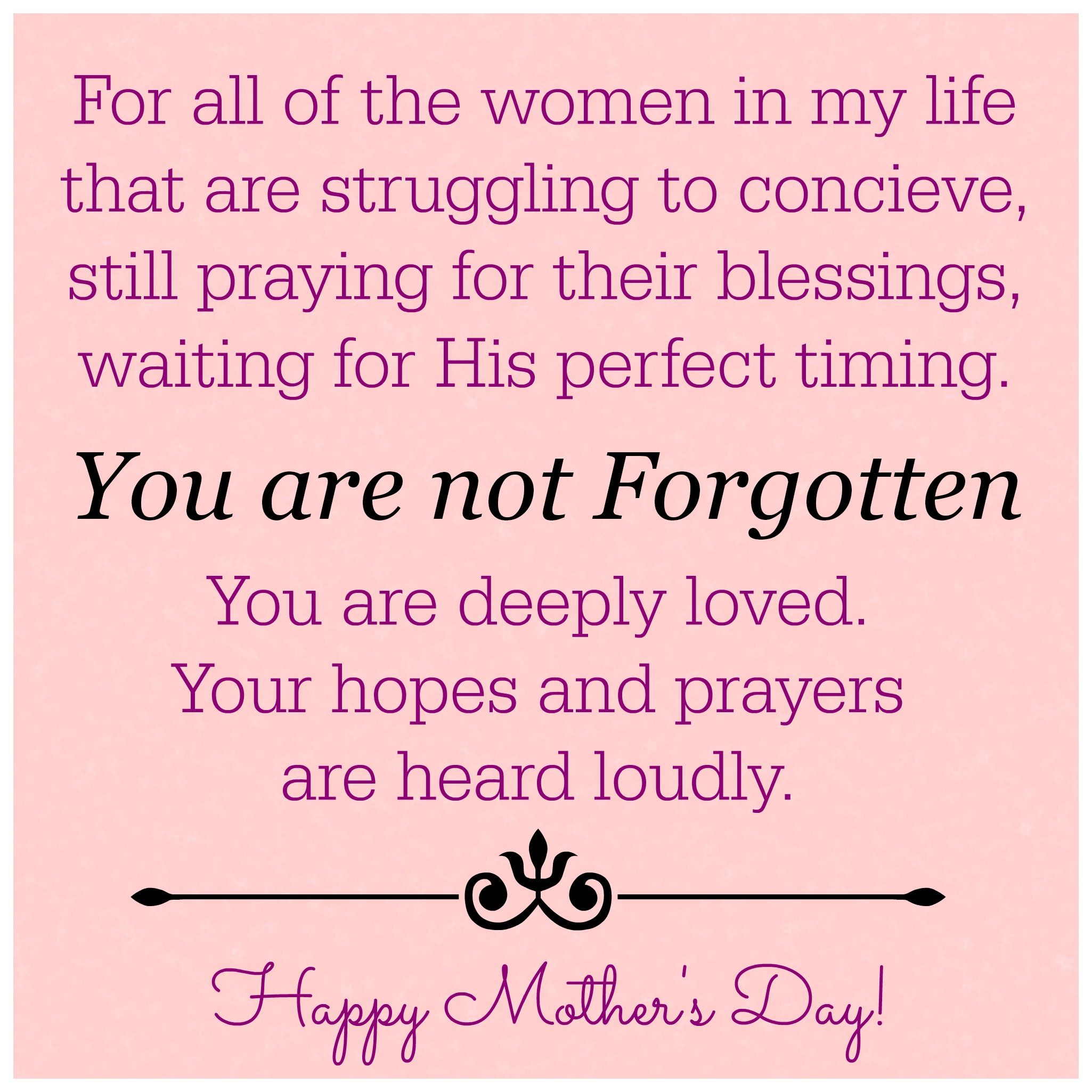 Happy Mother's Day. HappyMothersDayInfertility